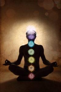 Chakra chart for reiki energy healing